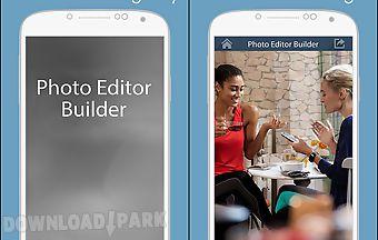 Photo editor builder