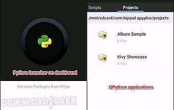 Qpython player - python for andr..