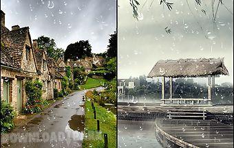 Similar Apps To Raindrop Live Wallpaper