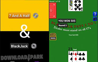 7 and a half and blackjack hd
