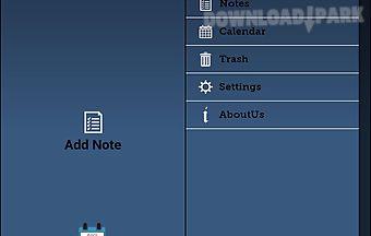 Calendar and notes