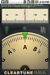 cleartune - chromatic tuner real