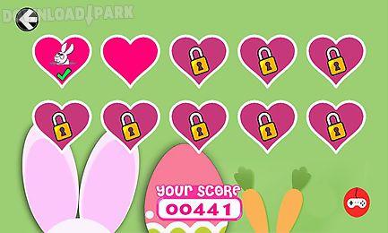easter bunny - rabbit hunting egg cute game 4 kids