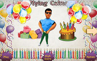 Flying cakes