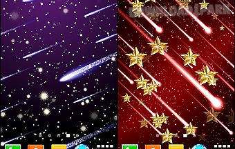 Meteor shower by live wallpapers..