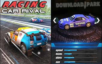 Rally racing: car rival