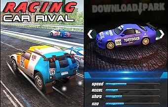 Rally racing: car rival