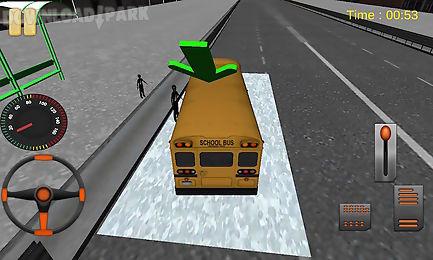 school bus - the best school bus driver 3d