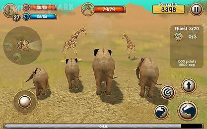 wild elephant simulator 3d