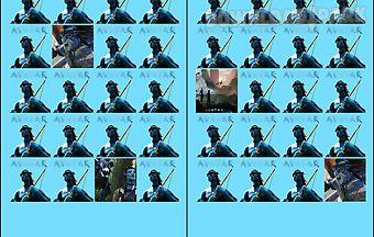 Avatar memory game