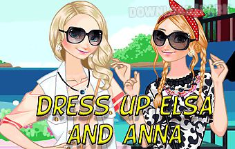 Dress up elsa and anna to rest