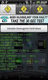earth geomagnetic field calculator