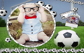 Smart boy kid photo frames