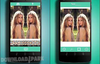 Twin camera: photo effects