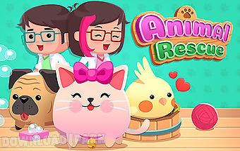 Animal rescue: pet shop game