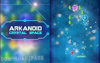 Arkanoid: crystal space
