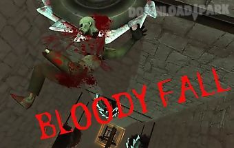 Bloody fall: zombie dismount