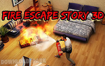 Fire escape story 3d