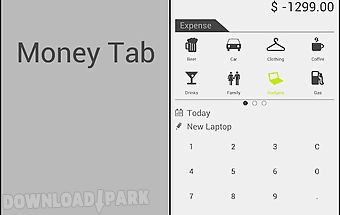Money tab
