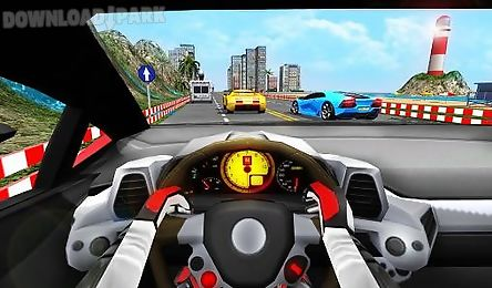 racing in car turbo