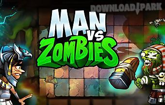 Angry man vs zombies