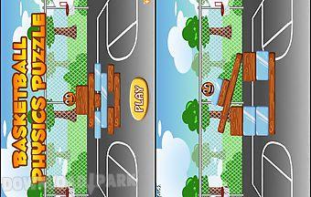 Basketball physics puzzle gold