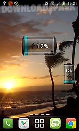 battery widget hd