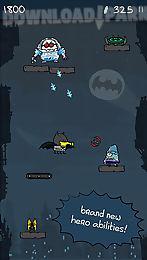 doodle jump: dc super heroes