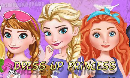dress up elsa and princesses for pj parties