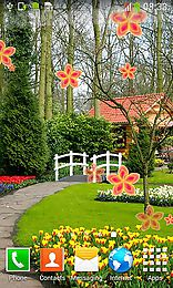 garden by cool free live wallpapers