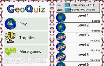 Geoquiz - quiz about geography