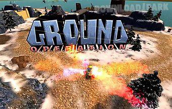 Ground operation
