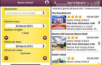 Laterooms hotel search