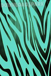 teal zebra print live wallpaper