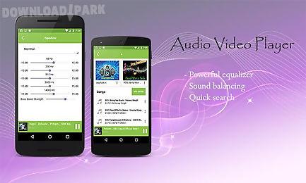 audio video player