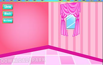 Baby room decorating games