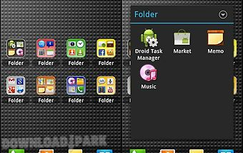 Droid app folder