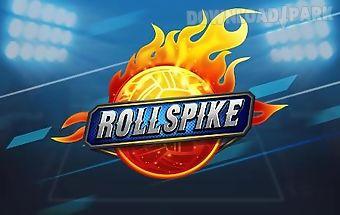 Roll spike: sepak takraw