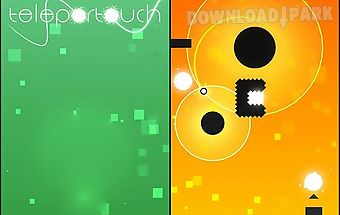 Teleportouch: colorful puzzle