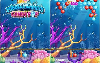 Bubble mermaid: candy pop