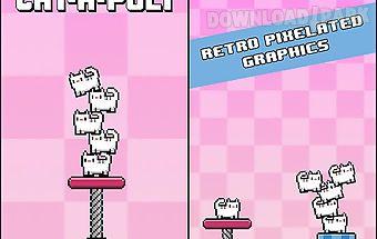 Cat-a-pult: toss 8-bit kittens