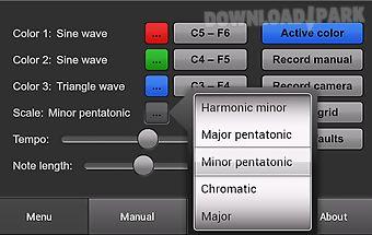 Color sounds: generative music