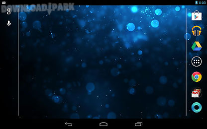 galaxy sparkle live wallpaper