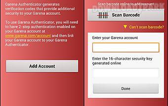 Garena authenticator