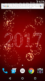 new year fireworks lwp 2017