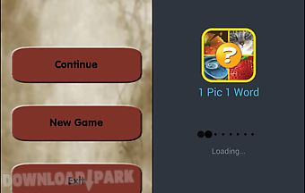 1 picture 1 word puzzle game