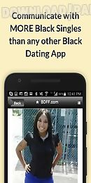 black singles dating for free