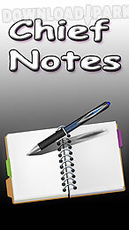 chief notes