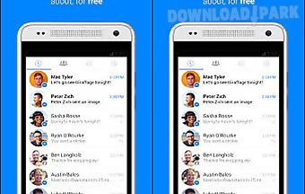 Facebook messenger service