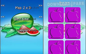 Fruits memory game for android